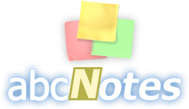 abcNotes - Checklist & Sticky Note Application